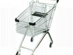 Тележки торговые для супермаркета 60 литров