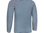 Тельняшка летняя 100% хлопок вязаная (темно-синяя, ВМФ, морская, флотская) - фото 3