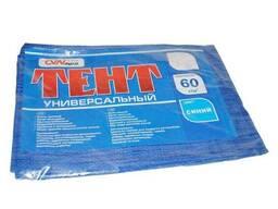 """Тент будівельний 60гр/м2, 2 х 3м (CVN agro) синій ТМ""""Україна"""""""
