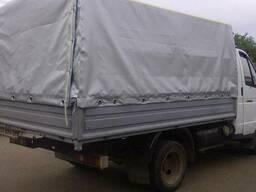 Тент на газель три метра кузов со стандартным каркасом.