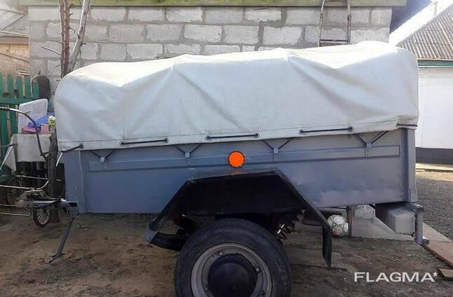 Тент на прицеп Степок ЗАЗ-8101 1.61 х 1.17 ПВХ Евролайт