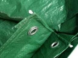 Тент Тарпаулин, плотность 90 г/м2, цвет зеленый