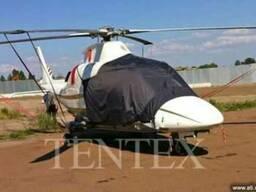 Тенты чехлы на самолеты, вертолеты, лопасти