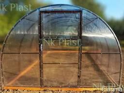 Теплицы из поликарбоната повышеной прочности.