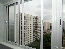 Теплое алюминиевое остекление балкона, лоджии