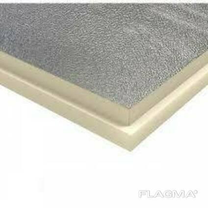 Теплоизоляционные плиты PIR 40мм гидроалюминий