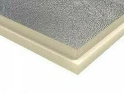 Теплоизоляционные плиты PIR 100мм гидроалюминий