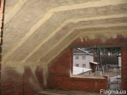 Теплоизоляция жилых домов и квартир пенополиуретаном