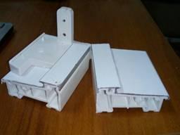 Комбинированный Теплый алюминиевый порог 30/65 мм