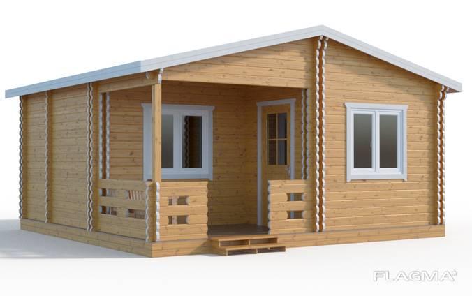 Теплый деревянный дачный дом по европейской технологии Киев