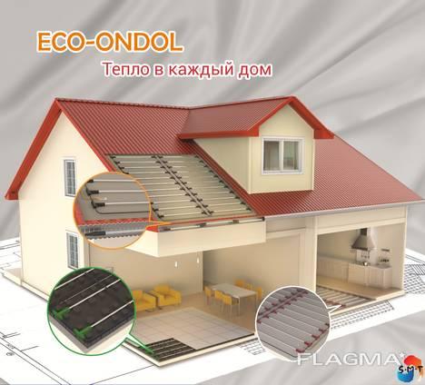 Теплый пол отопление, стержни Eco-Ondol 4.0, 218 Вт