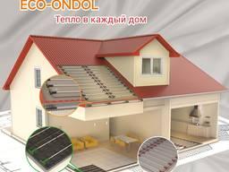 Теплый пол отопление, стержни Eco-Ondol 3. 0, 164 Вт