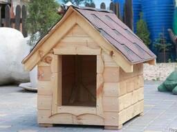 Будка для собаки 93х62х90 см. Собачьи будки теплые