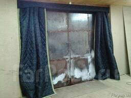 Теплые многослойные шторы