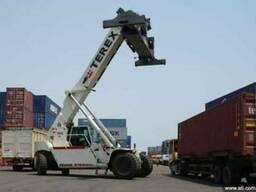 Terex PPM Погрузчик для стафировки контейнеров - ричстакер