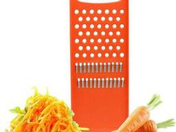 Терка универсальная пластмассовая двусторонняя для овощей по-корейски и детского. ..