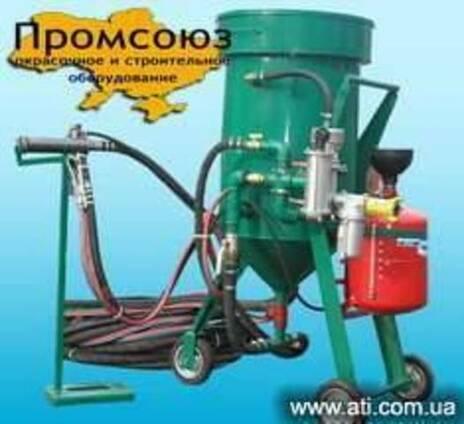 Термоабразивная установка ТАУ 100 /ТАУ 200 (термопескоструй)