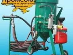 Термоабразивная пескоструйная установка ТАУ 100 / ТАУ 200