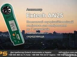 Термоанемометр с индексом тепла Extech AN25