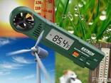 Термоанемометр с индексом тепла Extech AN25 - фото 2