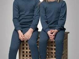 Термобельё серо голубое Thermoform детское 12-007
