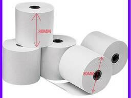 Термобумага 80х80 мм / термолента / чековая бумага/. ..