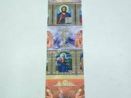 """Термоэтикетки для пасхальных 7 яиц""""Христианские иконы"""" (100 шт)"""