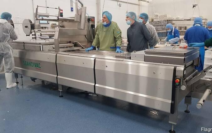Упаковочная машина для пресервов фирмы Scandivac