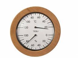 Термогигрометр для сауны и бани (большой) 205 мм