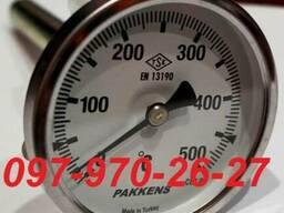 Термометр биметаллический pakkens, Турция 100/100 200С