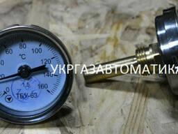 Термометр биметаллический ТБИ ТБ-63 ТБ-100 ТБУ-63 ТБУ-100