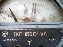 Термометр манометрический ткп - 160 на запчасти