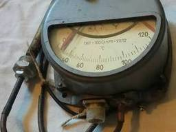 Термометр манометрический ТКП-160Сг-УХЛ2, 0-120* 1м, 160мм