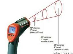 Термометр с сигнализацией на 760°С инфракрасный Extech 42540
