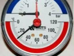 Термометры биметаллические РОСМА, WIKA, WATTS