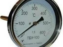 Термометры биметаллические ТБУ-100 радиальные, осевые.