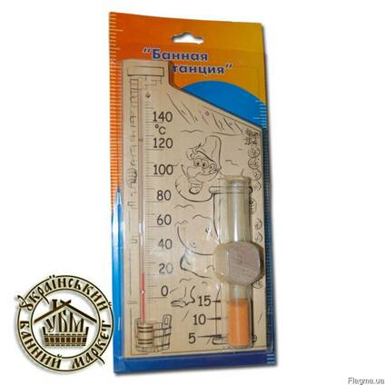 Термометры и гидрометры для бани и сауны