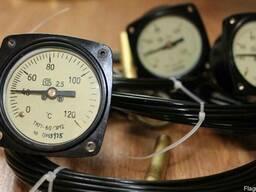 Термометры манометрические виброустойчивые ТКП60/3М