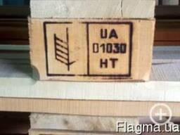 Термообработка поддонов, ящиков, брусов, тары и др (IPPC)