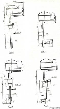 Термопара Термоэлектрический преобразователь ТХА-1087