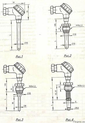 Термопара Термоэлектрический преобразователь ТХА-2088
