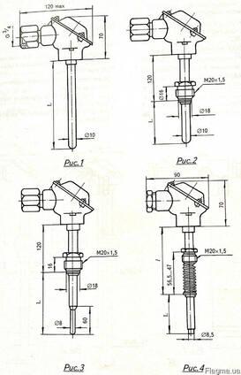 Термопара Термоэлектрический преобразователь ТХА-2188