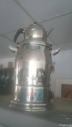 Термопот с чайником на крышке Uret Celik Cift Amacli 9л.