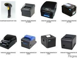 Термопринтеры, принтеры чеков и этикеток, сканеры