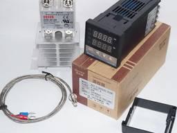 Терморегулятор REX-C100 SSR-40 DA термопара радиатор