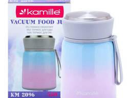 Термос пищевой из нержавеющей стали Kamille 530 мл