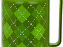 Термос со стеклянной колбой на 1 л Con Brio CB-352-green