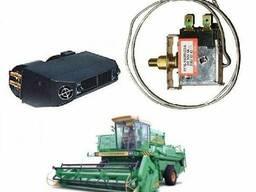 Термостат кондиционера на комбайн, трактор механический (L трубки = 350 мм. )