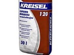 Термостойкий раствор для кладки Kreisel 120, 30 кг