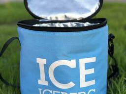 Термосумка Сумка-Холодильник Iceberg. Тубус. Голубая